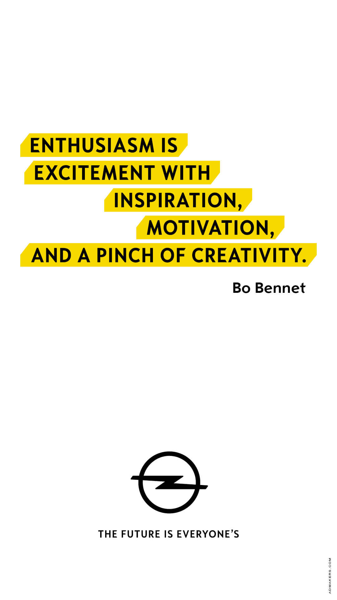 Enthusiasm is excitement with inspiration, motivation, and a pinch of creativity.